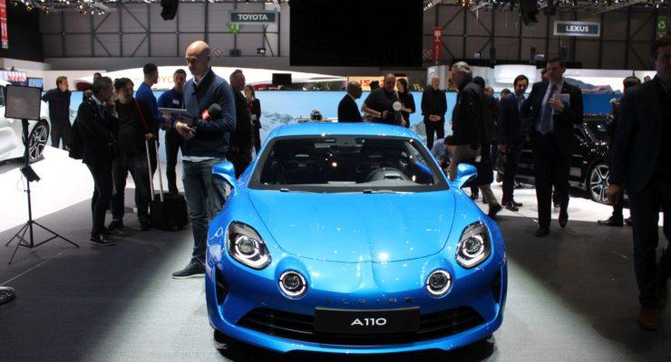 Nuova Alpine A110: nel mirino l'Alfa 4C