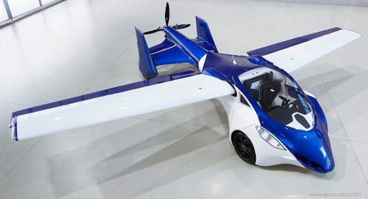 Sarà l'anno dell'auto che vola?