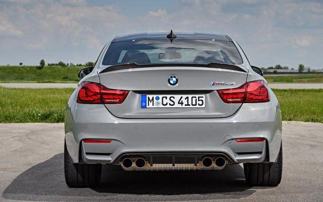 BMW M4, se non vi basta la competition ecco la CS