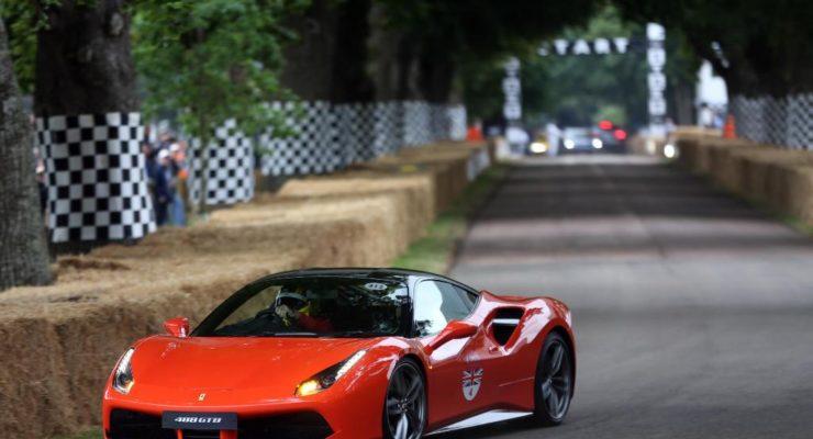 Goodwood FOS – lo spettacolo Ferrari!