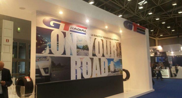 Comparto autocarro: anche all'Autopromotec GT Radial passa il testimone al nuovo marchio Giti