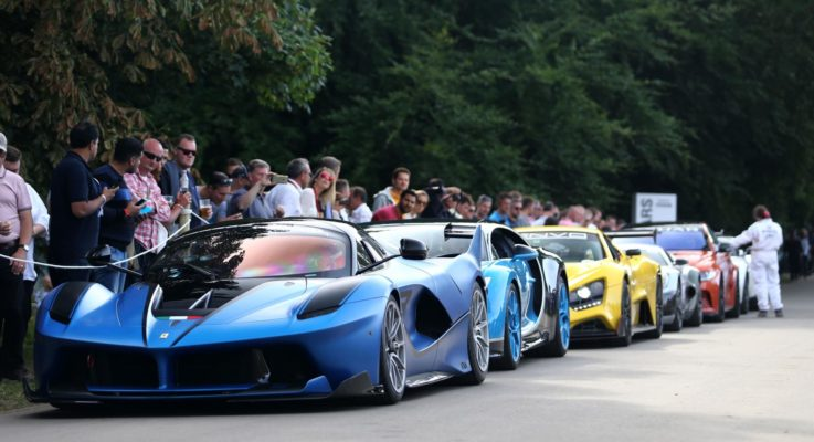 Le 5 hypercar più belle di Goodwood 2017