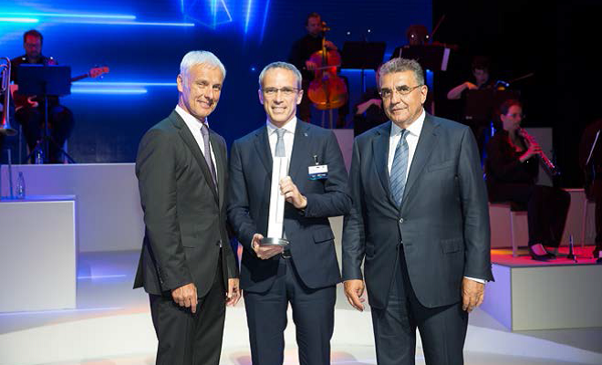 Bridgestone riceve il Volkswagen Group Award Innovation & Technology