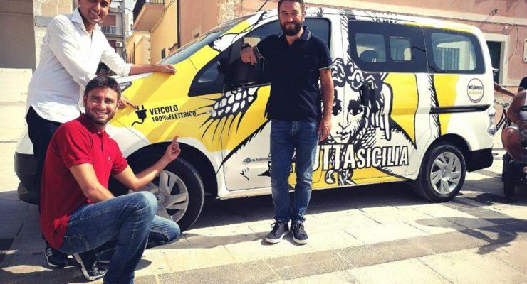 """""""A Tutta Sicilia"""": pentastellati in tour con mezzi elettrici"""