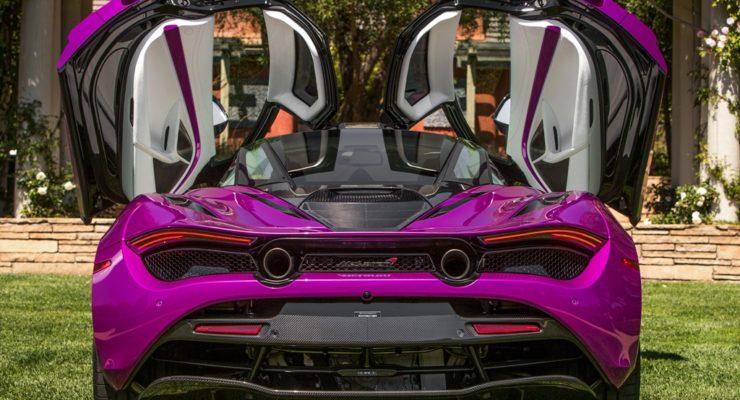 Bespoke McLaren 720S Fux Fuchsia