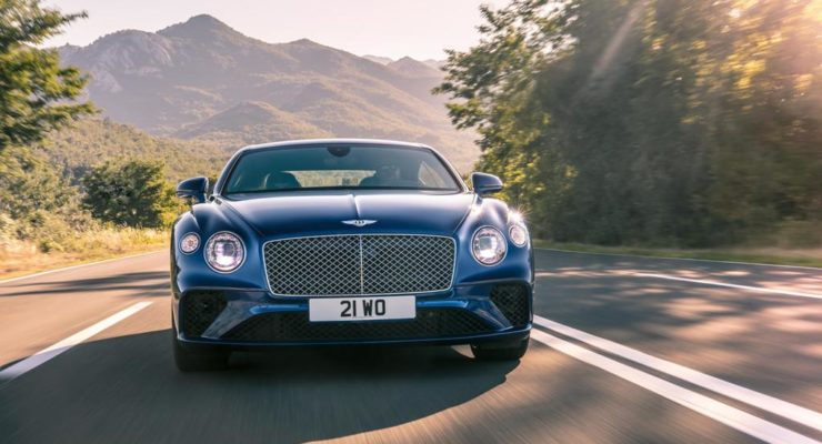 Nuova Bentley Continental GT a Francoforte 2017