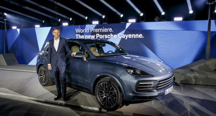 Porsche Cayenne 2018: i prezzi della nuova generazione del SUV
