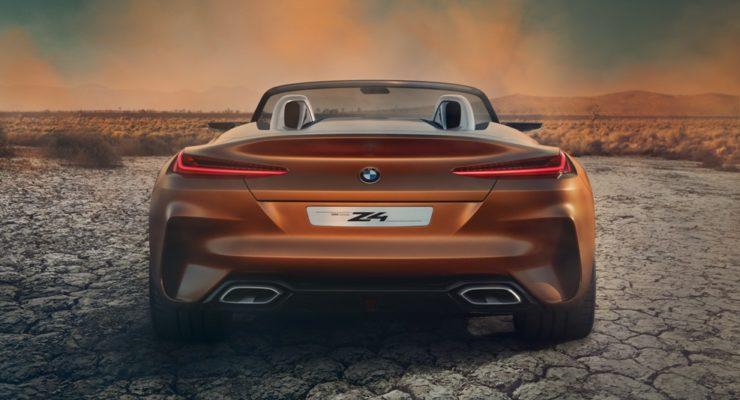 Nuova BMW Z4: svelato il concept