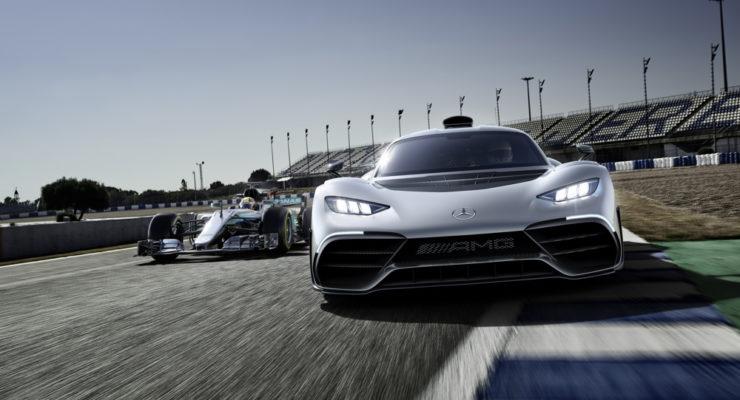 Mercedes-AMG Project One con motore da F1