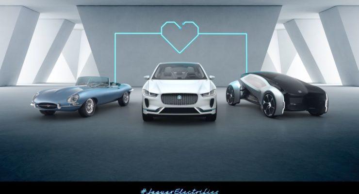 Tutti i nuovi modelli elettrici Jaguar Land Rover