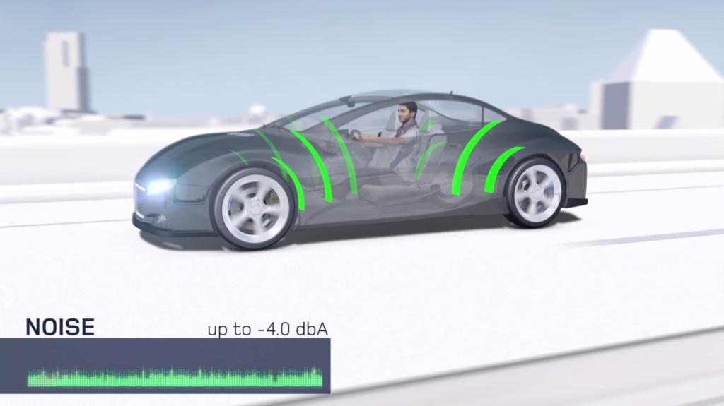 Minore rumorosit degli pneumatici grazia alla tecnologia for Come ridurre il rumore nella cabina dell auto