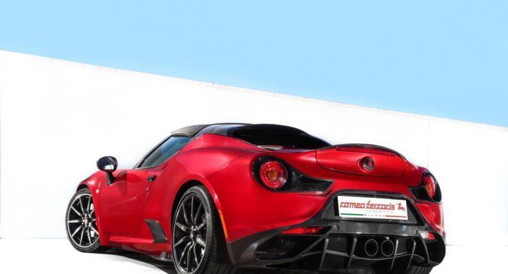 Alfa Romeo 4C by Romeo Ferraris – La prova in pista