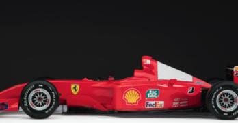 All'asta la Ferrari F2001 di Michael Schumacher della vittoria di Monaco