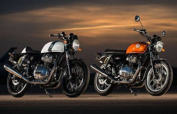 Royal Enfield Interceptor INT 650 e la Continental GT 650 a EICMA 2017