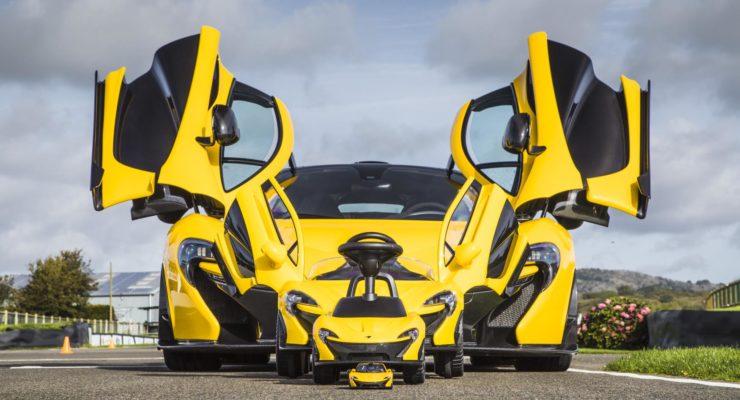 Spingi i pedali della nuova McLaren P1
