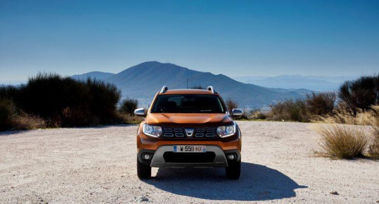 Dacia Duster con pneumatici GitiPremiumPX1SUV