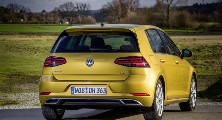 Volkswagen Golf con il benzina che consuma come un diesel