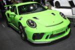 Porsche 911 GT3 RS, ecco le immagini live