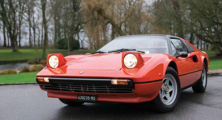 La Ferrari 308 GTS 1978 di Gilles Villeneuve va all'asta