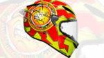 Misano, Agv celebra il ritorno di Rossi con un casco moto speciale