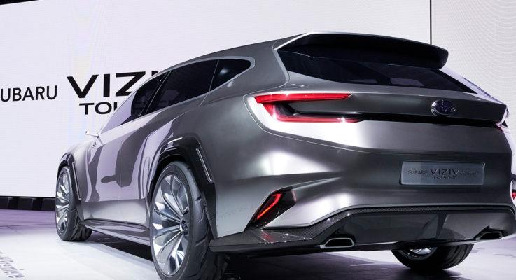 Nuova Subaru Levorg al Tokyo Motor Show 2019