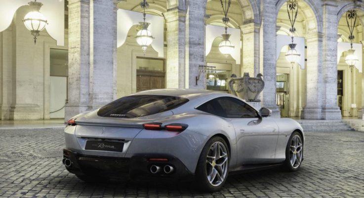 Ferrari Roma coupè 2+, ultima nata con motore V8 turbo da 620 CV